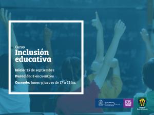posteo curso - Inclusión Educativa