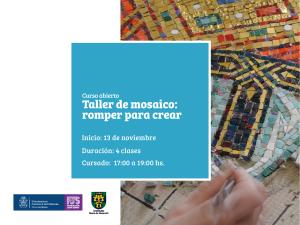 posteo curso - Taller de mosaico romper para crear