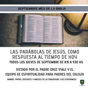 LAS PARÁBOLAS DE LA BIBLIA, COMO RESPUESTA AL TIEMPO DE HOY